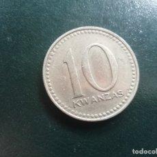 Monedas antiguas de África: REPÚBLICA DE ANGOLA 1975 10. KWANZAS. Lote 172654462