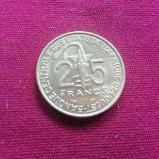 Monedas antiguas de África: ESTADOS AFRICANOS DEL OESTE 25 FRANCOS 1997 SC. Lote 172654498