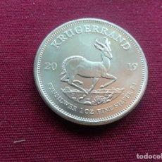 Monedas antiguas de África: MONEDA DE 1 KRUGERRAND (1 ONZA) DE SUDÁFRICA DE 2019. PLATA FINA. Lote 173135432