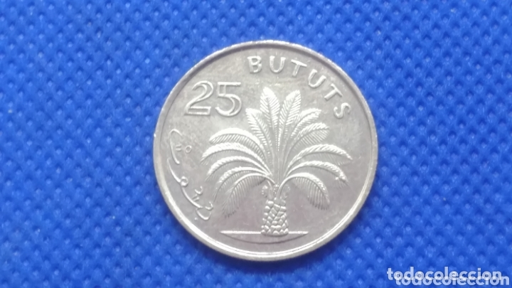 GAMBIA 25 BUTUTS 198 (Numismática - Extranjeras - África)
