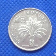 Monedas antiguas de África: GAMBIA 25 BUTUTS 198. Lote 173736107