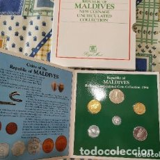 Monedas antiguas de África: CARTERA MALDIVAS 1984. Lote 173796547