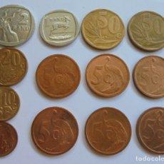 Monedas antiguas de África: SUDÁFRICA.MONEDAS MISMA SERIE,VARIANTES DE IDIOMA . Lote 173859685