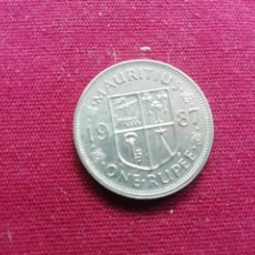 Monedas antiguas de África: ISLAS MAURICIO. RUPIA DE 1987. Lote 173913144