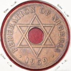 Monedas antiguas de África: NIGERIA, 1 PENNY 1959 FEDERACIÓN DE NIGERIA. Lote 173944039