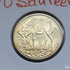 Monedas antiguas de África: ETIOPIA 10 SANTEEM 2008. Lote 174011587