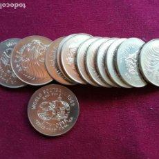 Monedas antiguas de África: ETHIOPIA ETIOPÍA 2 BIRR 1982 ESPAÑA 82. SIN CIRCULAR. 12 DISPONIBLES. Lote 175465660