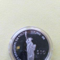 Monedas antiguas de África: LIBERIA 10 DOLÁRES DE PLATA PROOF 2000. Lote 175850777