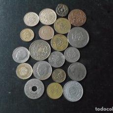 Monedas antiguas de África: COLECCION DE MONEDAS DE MARRUECOS DIVERSAS EPOCAS. Lote 176313204