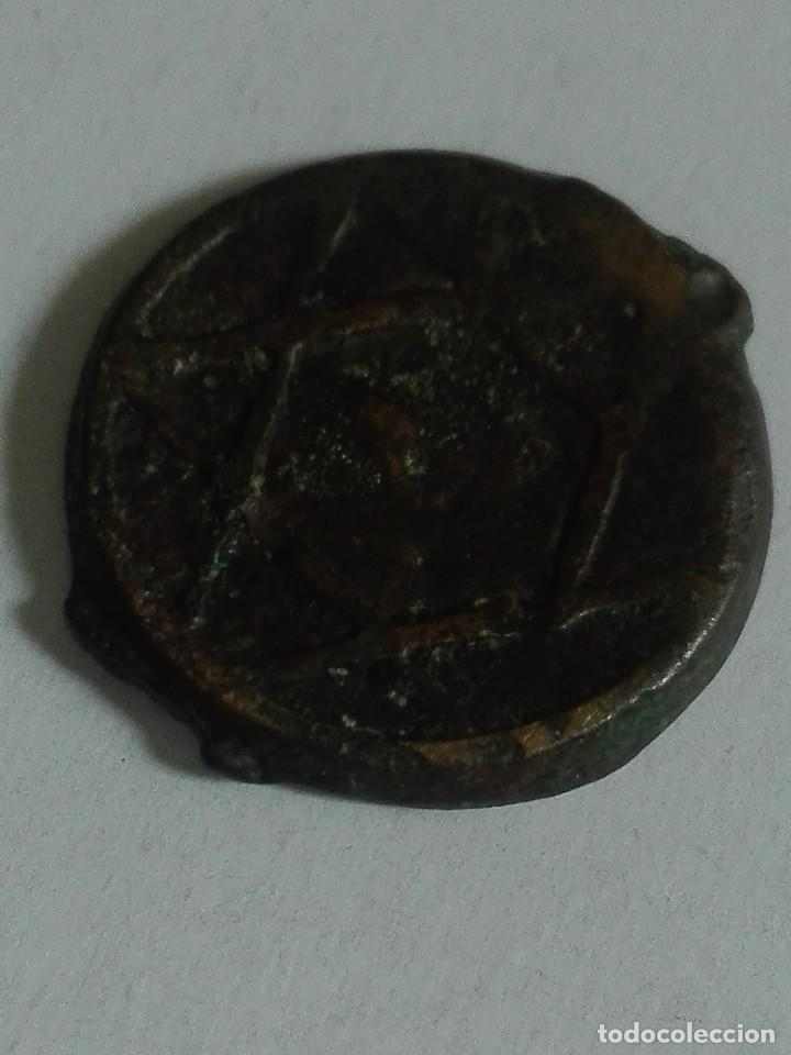 MONEDA MARRUECOS MONEDA ANTIGUA FELUS ESTRELLA DE DAVID (Numismática - Extranjeras - África)