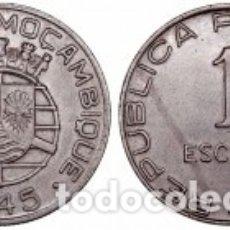 Monedas antiguas de África: MOZAMBIQUE - 1 ESCUDO - 1945 - BRONCE - E.B.C. Lote 177866490