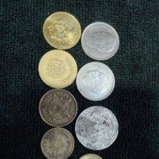 Monedas antiguas de África: 9 MONEDAS MARRUECOS. Lote 178135679