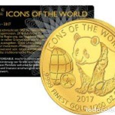 Monedas antiguas de África: RUANDA - 1/200 ONZA ORO - PANDA - PROOF - INVERSIÓN DE LA MONEDA - VISITA MIS OTROS LOTES. Lote 178297508