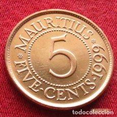 Monedas antiguas de África: MAURICIO 5 CENTAVOS 1999 MAURITIUS. Lote 195153860