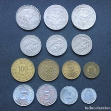 Monedas antiguas de África: 13 MONEDAS DE TUNEZ DE DIFERENTE MODELO (4) . Lote 179031106