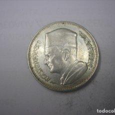 Monedas antiguas de África: MARRUECOS , 1 DIRHAM DE PLATA DE 1960. REY MOHAMET V. Lote 179224568