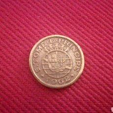 Monedas antiguas de África: 10 CENTAVOS DE SANTO TOME Y PRÍNCIPE 1962. Lote 181571986