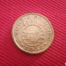 Monedas antiguas de África: 50 CENTAVOS DE SANTO TOME Y PRÍNCIPE 1962. Lote 181573017