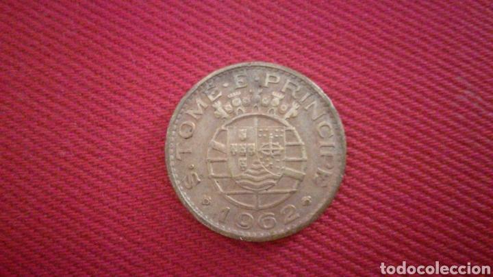 1 ESCUDO DE SANTO TOME Y PRÍNCIPE 1962 (Numismática - Extranjeras - África)