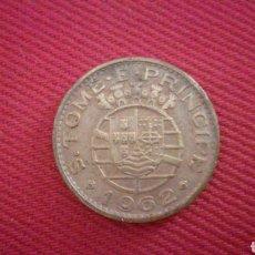Monedas antiguas de África: 1 ESCUDO DE SANTO TOME Y PRÍNCIPE 1962. Lote 181738696