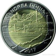 Monete antiche di Africa: BURKINA FASO 50 FRANCS CFA 2017 - ANDREA DORIA - BIMETALICA ANDREA DORIA. Lote 226306300