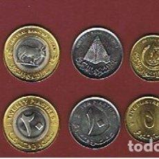 Monedas antiguas de África: SUDAN : 2006 : 1 -5 - 10 - 20 - 50 PIASTRAS. SC. UNC.. Lote 195337823