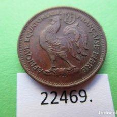 Monedas antiguas de África: AFRICA ECUATORIAL FRANCESA LIBRE , 50 CENTIMOS 1943 , AFRIQUE EQUATORIALE FRANCAISE LIBRE. Lote 182167728