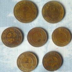 Monedas antiguas de África: LOTE DE 7 MONEDAS DE SOMALIA DE 1967. Lote 182475988