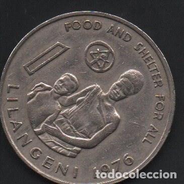 SWAZILANDIA, 1 LILANGENY 1976, 30MM, MUY BONITA, MBC (Numismática - Extranjeras - África)
