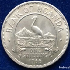 Monedas antiguas de África: UN CHELIN DE UGANDA , DE 1966, BANCO DE UGANDA. Lote 183366590