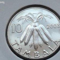 Moedas antigas de África: MALAWI 10 TAMBALAS 2003 (SIN CIRCULAR). Lote 183492121