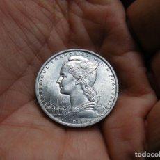 Monedas antiguas de África: SOMALIA RARA MONEDA DE 5 FRANCOS 1948 SIN CIRCULAR. Lote 183574087