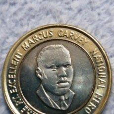 Monedas antiguas de África: MONEDA BIMETALICA, TWENTY DOLLARS JAMAICA. Lote 183644291