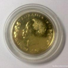 Monedas antiguas de África: TANZANIA ORO PROOF 1500SHILINGI 1974 CONSERVACIÓN NATURALEZA. Lote 183847090
