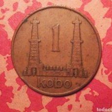 Monedas antiguas de África: 1 KOBO. 1973 NIGERIA. Lote 183850490