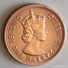 Monedas antiguas de África: 2 CENT BRONCE ISLAS MAURICIO 1975 COMMONWEALTH. Lote 175428469
