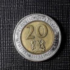 Monedas antiguas de África: KENIA 20 TWENTY SHILLINGS 2010 KM36. Lote 184276786