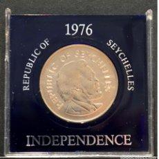 Monedas antiguas de África: 10 RUPIAS 1976 INDEPENDENCIA REPUBLIC OF SEYCHELLES. Lote 70338257