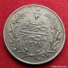 Monedas antiguas de África: EGYPT EGIPTO 10 QIRSH 1327/3 1911. Lote 185775445
