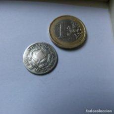 Monedas antiguas de África: MONEDA DE PLATA DE 6 PENIQUES DE SUDÁFRICA AÑO 1941. Lote 187420827