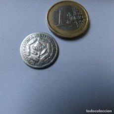 Monedas antiguas de África: MONEDA DE PLATA DE 6 PENIQUES DE SUDÁFRICA AÑO 1943 . Lote 187421253