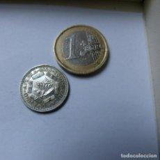 Monedas antiguas de África: MONEDA DE PLATA DE 6 PENIQUES DE SUDÁFRICA AÑO 1954 MBC. Lote 187428182