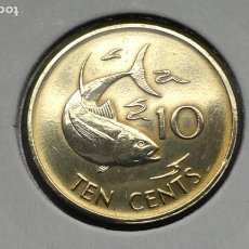 Monedas antiguas de África: SEYCHELLES 10 CENTAVOS 1982. Lote 187434976
