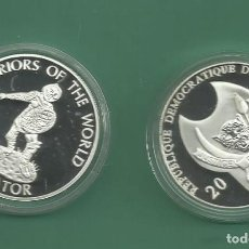 Monedas antiguas de África: REPÚBLICA.DEM CONGO. 10 FRANCS 2010. GLADIADOR. BAÑO DE PLATA. Lote 187469518