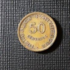 Monedas antiguas de África: MOZAMBIQUE COL. PORTUGUESA 50 CENTAVOS 1973 KM89.. Lote 188696553