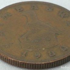 Monedas antiguas de África: MONEDA 1980. 1 CÉNTIMO. ZIMBABWE. KM 1. MBC. MUY BUENA CONSERVACIÓN. Lote 189165317
