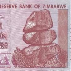 Monedas antiguas de África: BILLETE ZIMBABWE FIVE BILLION DOLLARS 5000000000 S/C. Lote 189642952