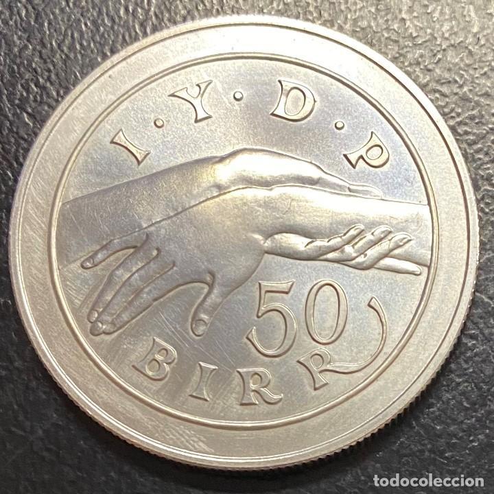 Monedas antiguas de África: ETIOPÍA 50 BIRR AÑO 1974 - Foto 2 - 190901548