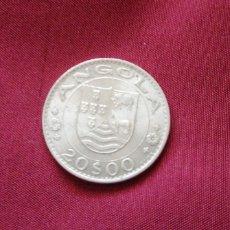 Monedas antiguas de África: 20 ESCUDOS DE ANGOLA 1971. Lote 192651731
