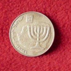 Monedas antiguas de África: 10 AGOROT CÉNTIMOS ISRAEL . Lote 193411735